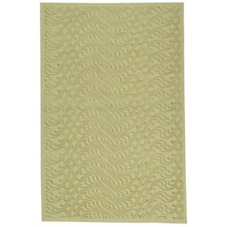 Martha Stewart Ms Surf Dune Silk Blend Rug (3' 9 x 5' 9)