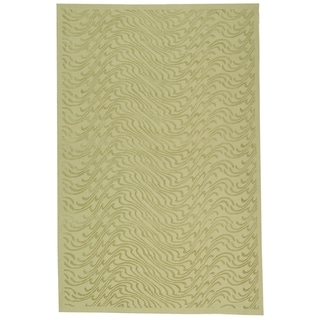 Martha Stewart Ms Surf Dune Silk Blend Rug (7' 9 x 9' 9)