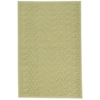 Martha Stewart Ms Surf Dune Silk Blend Rug (8' 6 x 11' 6)