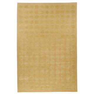 Martha Stewart Constellation Moon Silk/ Wool Rug (7' 9 x 9' 9)
