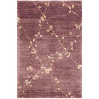 Martha Stewart Trellis Assorted Wool Rug (9' 6 x 13' 6)