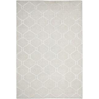 Martha Stewart Piazza Bedford Grey Linen Rug (8' x 10')