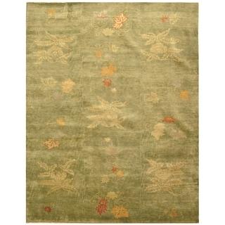 Martha Stewart Kimono Edamame Wool Rug (8' x 10')