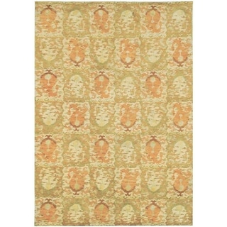 Martha Stewart Reflection Earth Silk/ Wool Rug (8' x 10')