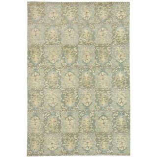 Martha Stewart Reflection Water Silk and Wool Rug (6' x 9')