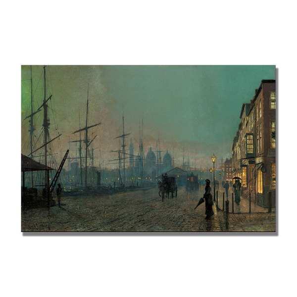John Grimshaw 'Humber Dockside' Canvas Art