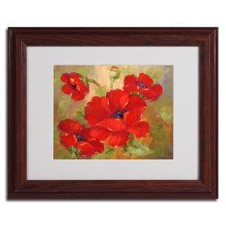 Rio 'Poppies' Framed Matted Art