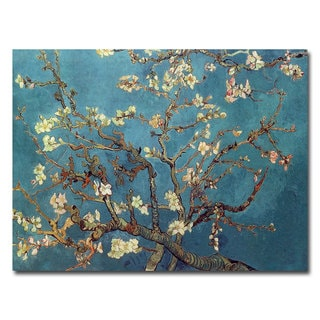 Vincent van Gogh 'Almond Blossoms' Canvas Art