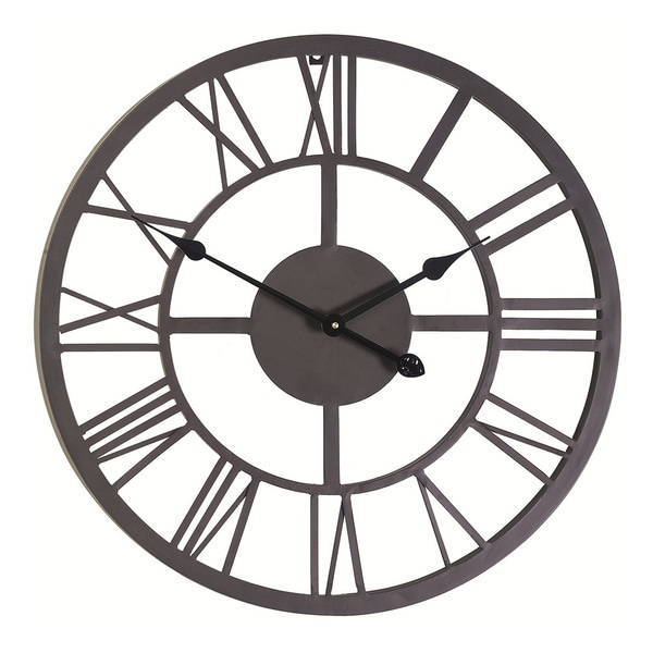 Giant Roman Numeral Wall Clock