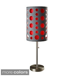 33-inch Modern Retro Grey Table Lamp