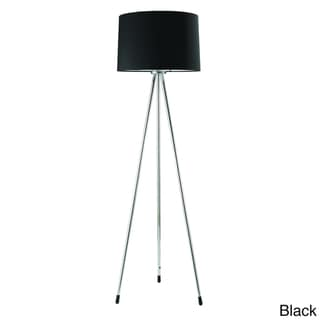 Chrome 3-legged Floor Lamp