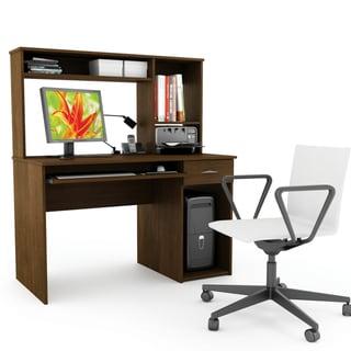 Sonax Urban Maple 47-inch Desk with Hutch