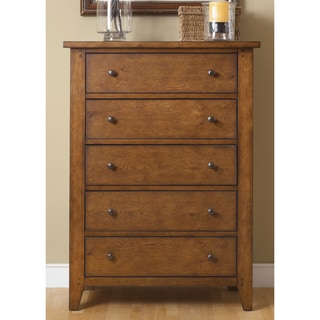 Hearthstone Rustic Oak 5-drawer Chest