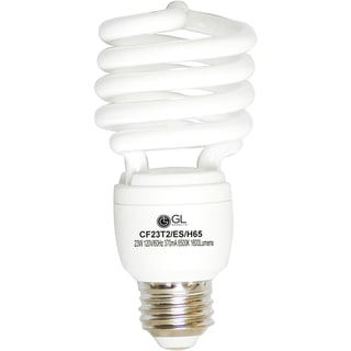 Goodlite G-10852 23-Watt CFL 100 Watt Replacement 1600-Lumen T2 Spiral Super White Light Bulb (Pack of 25)