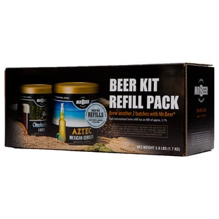 Mr. Beer International Series Variety Beer Re-fill Pack (Pack of 2)