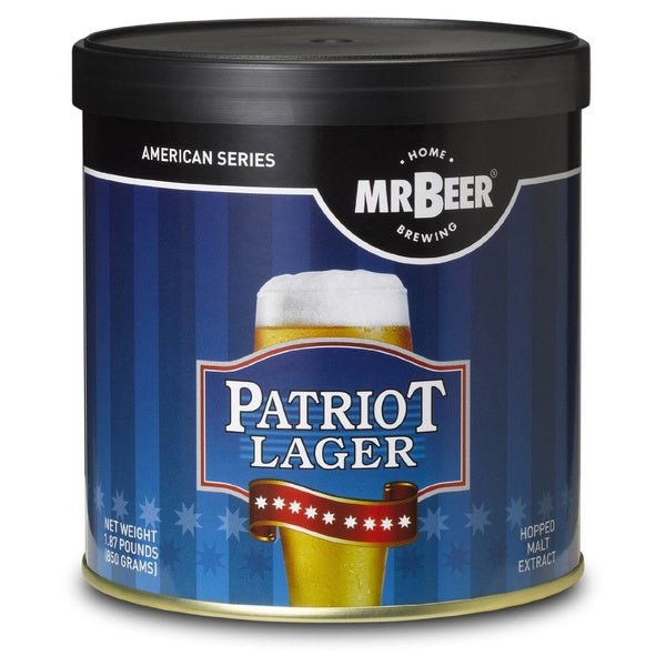 Mr. Beer 'Patriot American Lager' 2-gallon Refill Kit