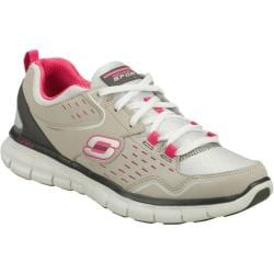 Women's Skechers Synergy A Lister Gray/Pink