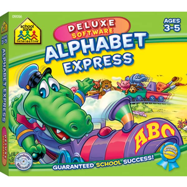 School Zone Deluxe Software Alphabet Express CD