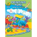 Printing Fun! Write And Reuse Workbook