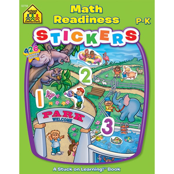 Math Readiness Stickers: A Stuck on Learning! Workbook