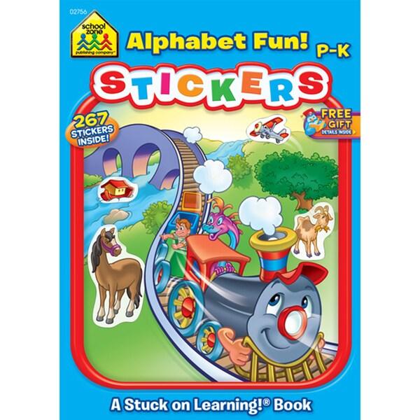 Alphabet Fun! Stickers: A Stuck on Learning! Workbook