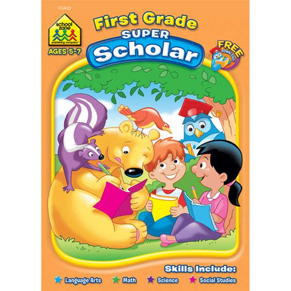 First Grade Super Scholar Workbook