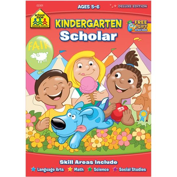Kindergarten Scholar Workbook