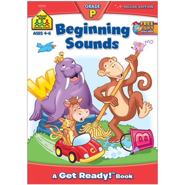 School Zone Beginning Sounds Workbook
