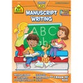 School Zone Manuscript Writing Workbook