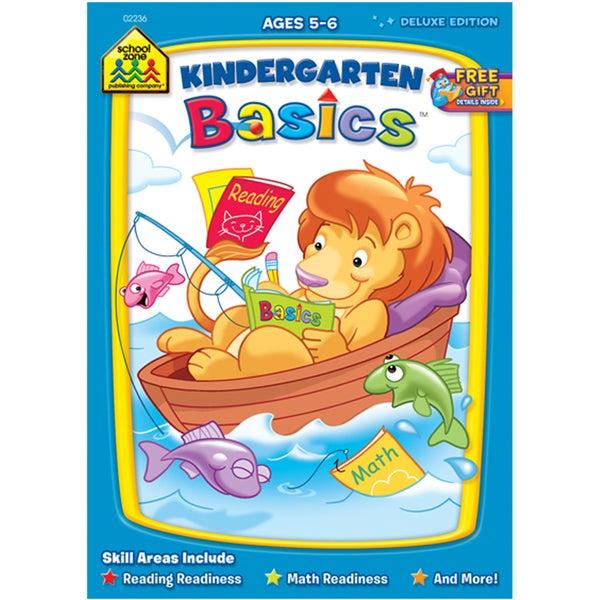 School Zone Kindergarten Basics Workbook
