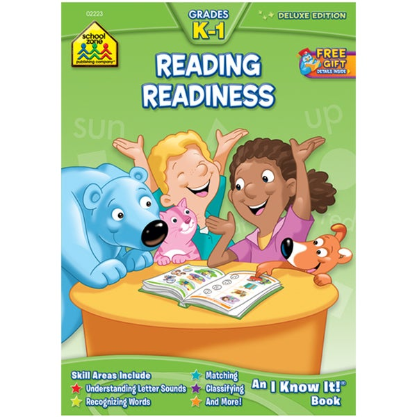 School Zone Reading Readiness Workbook