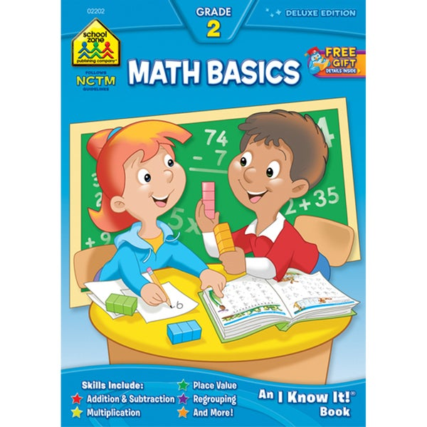 School Zone Math Basics 2 Workbooks