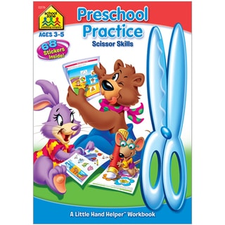 School Zone Preschool Practice Workbooks