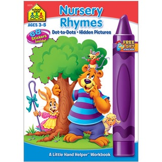 School Zone Nursery Rhymes Workbooks