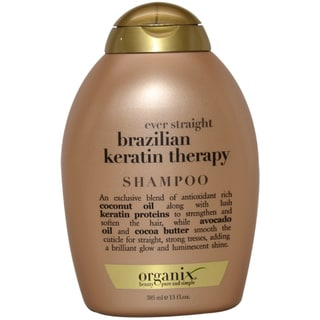 Organix Ever Straight Brazilian Keratin Therapy 13-ounce Shampoo