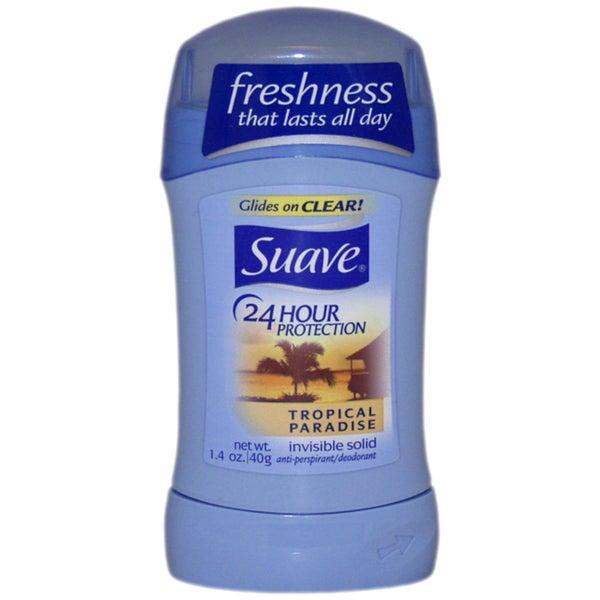 Suave Tropical Paradise Invisible Solid Deodorant