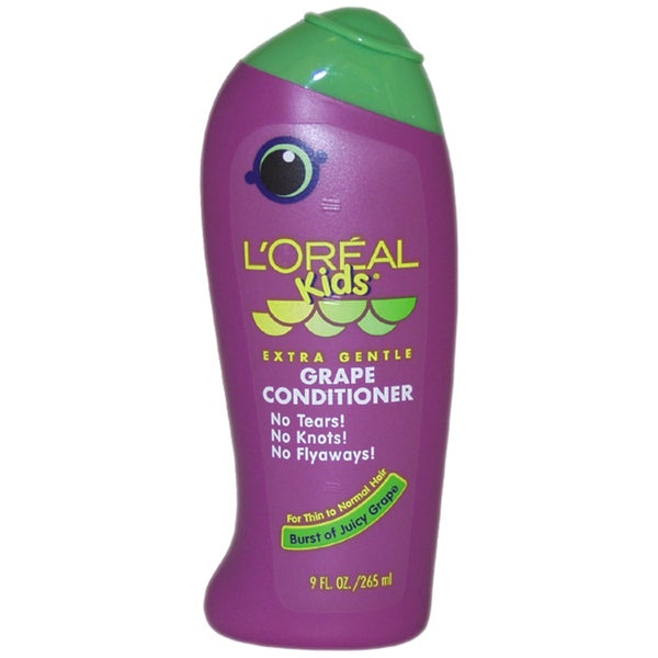 L'Oreal Kids Extra Gentle Grape 9-ounce Conditioner for Thin To Normal Hair