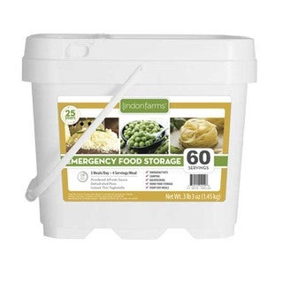 Lindon Farms 60 Servings Emergency Food Kit