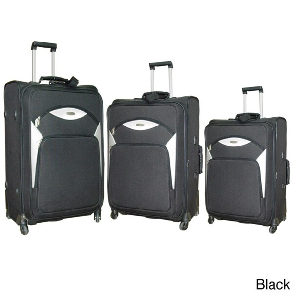 NY Cargo Norwegian 3-piece Spinner Luggage Set