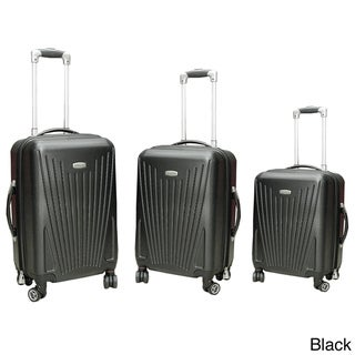 NY Cargo Cross Country 3-piece Hardside Spinner Luggage Set