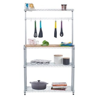Trinity EcoStorage Bamboo Baker&#39;s Rack