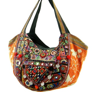 Handmade Celebrity Inspired Banjara Hobo Bag (India)