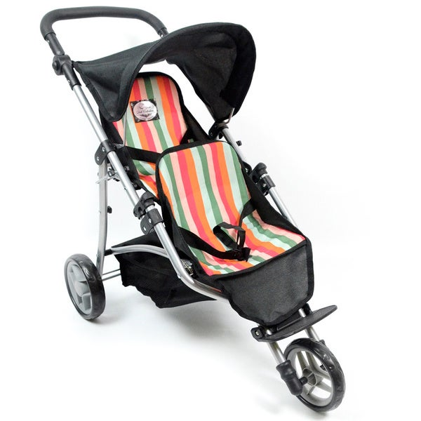 My First Doll Twin Jogging Stroller