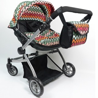Doll Twin Babyboo Stroller with Carriage Bag