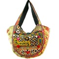 Cotton Stich Vintage Style Banjara Hobo Bag (India)