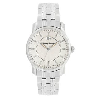 Tommy Bahama Men's Classic Silvertone Dial Watch