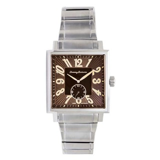 Tommy Bahama Men's Brown Square Watch