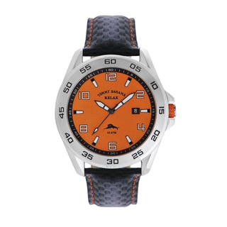 Tommy Bahama Men's 'Relax' Orange Dial Watch
