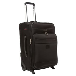 Delsey Luggage 17874BK 21-inch Helium Pilot Carry On Expandable Suiter Trolley