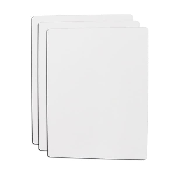 Hand-held 8.5x11-inch Dry Erase Boards (Pack of 30)